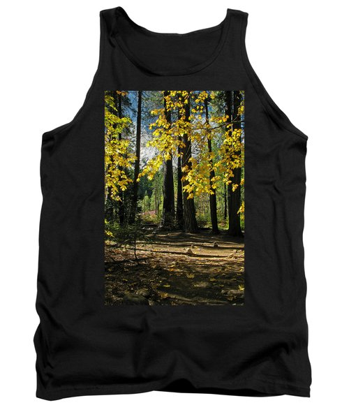 Tank Top featuring the photograph Yosemite Fen Way by John Haldane