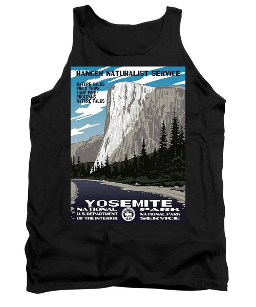Yosemite National Park Vintage Poster 2 Tank Top