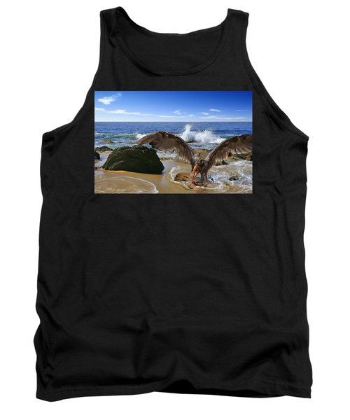 You Cried Out And I Came Tank Top