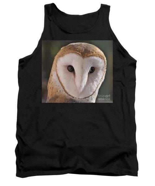 Young Barn Owl Tank Top