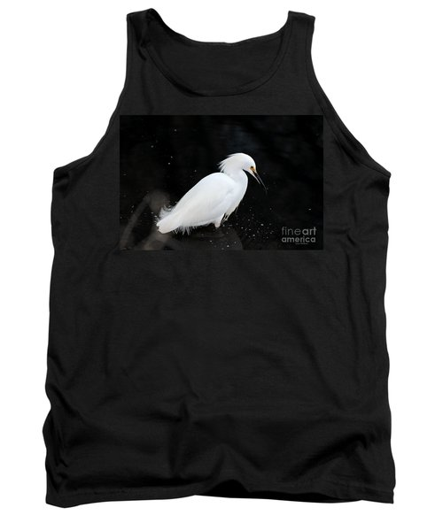 Young Snowy Egret Tank Top