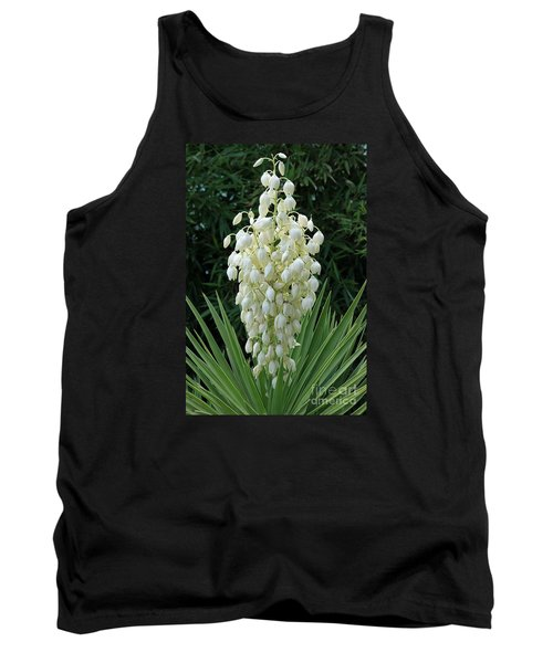Yucca Blossoms Tank Top by Christiane Schulze Art And Photography