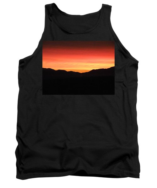 Yukon Gold And Crimson Tank Top