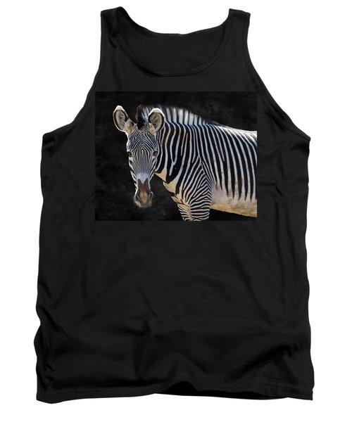 Z Is For Zebra Tank Top