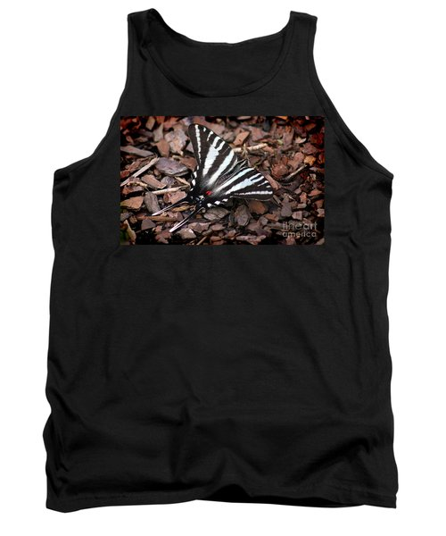 Zebra Swallowtail Butterfly Tank Top