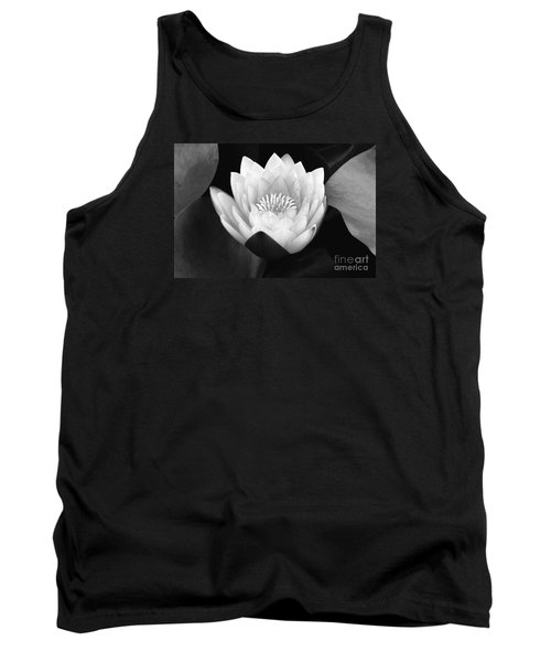 Tank Top featuring the photograph Waterlily Rising  by John F Tsumas
