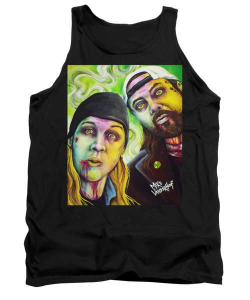 Zombie Jay And Silent Bob Tank Top