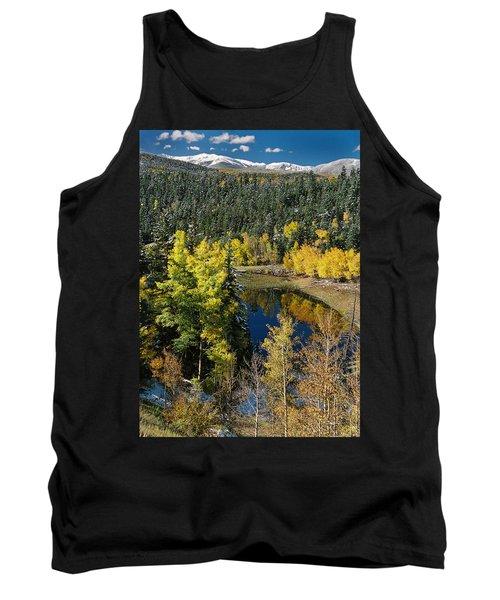 Fall Color On Bobcat Pass Tank Top