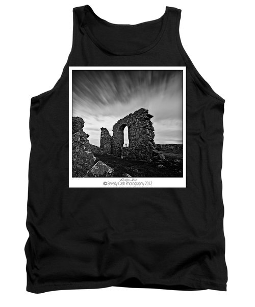 Llanddwyn Island Ruins Tank Top by Beverly Cash