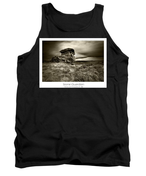 Tank Top featuring the photograph  Stone Guardian by Beverly Cash