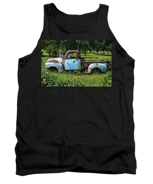 Tank Top featuring the photograph '48 Chevy by Paul Mashburn