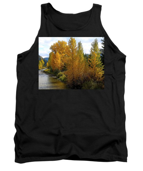 Tank Top featuring the photograph Fall Colors by Steve McKinzie