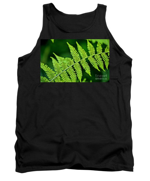 Tank Top featuring the photograph Fern Seed by Sharon Elliott