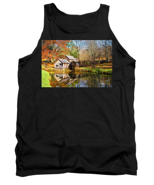 Mabry Mill Tank Top by Ronald Lutz