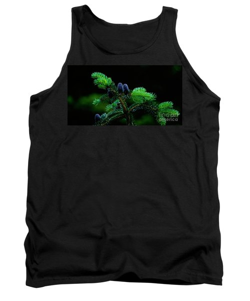 Tank Top featuring the photograph Mountain Life by Sharon Elliott