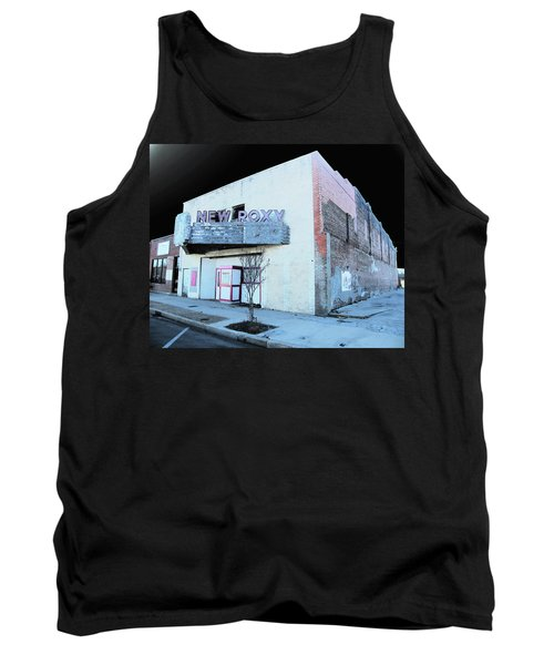 Tank Top featuring the photograph New Roxy Clarksdale Ms by Lizi Beard-Ward
