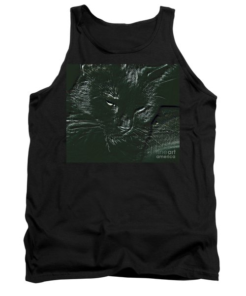 Tank Top featuring the photograph Satin by Donna Brown