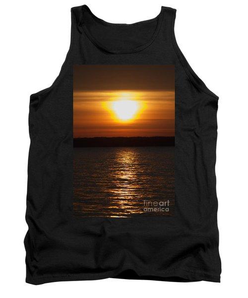Tank Top featuring the photograph Sunrise On Seneca Lake by William Norton