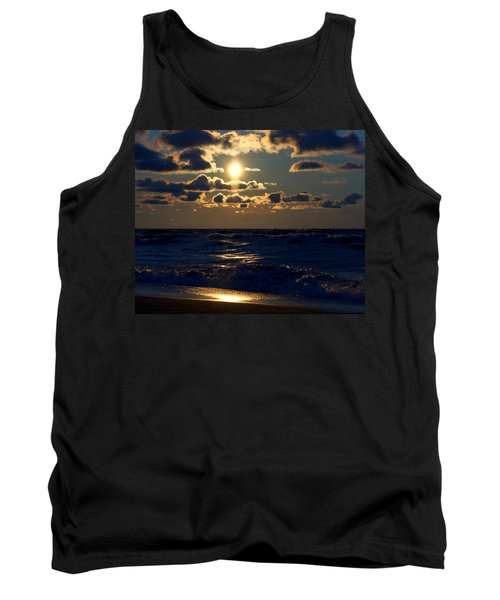 Sunset Over The City Tank Top
