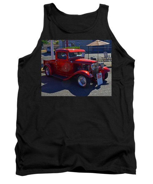 Tank Top featuring the photograph 1932 Ford Pick Up by Tikvah's Hope