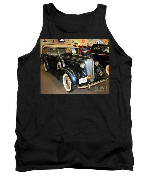Tank Top featuring the photograph 1936 Chevrolet Phaeton by John Black