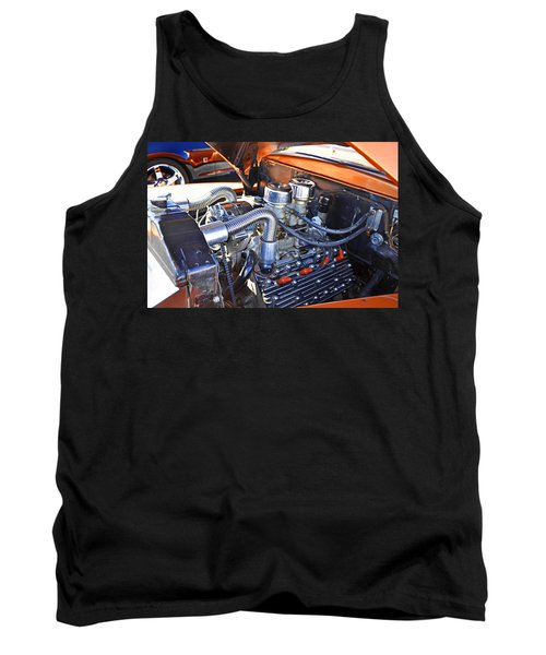 Tank Top featuring the photograph 1941 Flathead Ford by Paul Mashburn