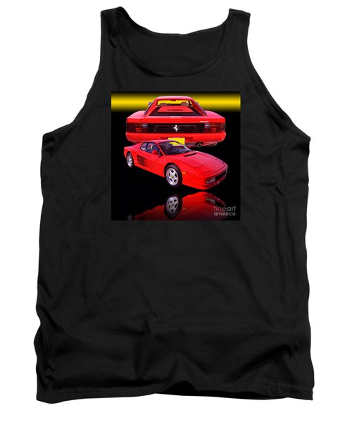 1990 Ferrari Testarossa Tank Top