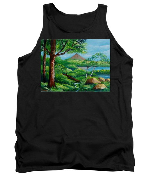Arenal Volcano Tank Top