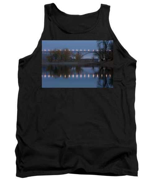 Tank Top featuring the photograph Ford Parkway Bridge by Tom Gort