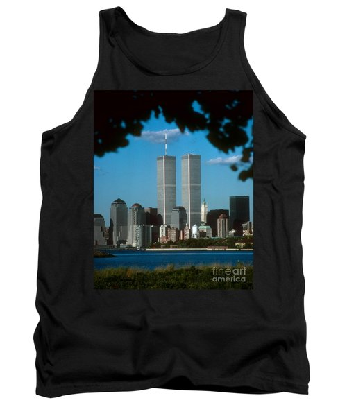 View From Liberty State Park Tank Top by Mark Gilman