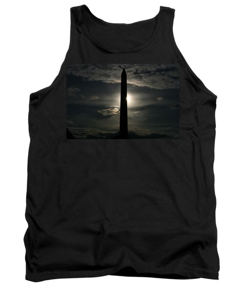 Tank Top featuring the photograph Washington Monument by Stacy C Bottoms