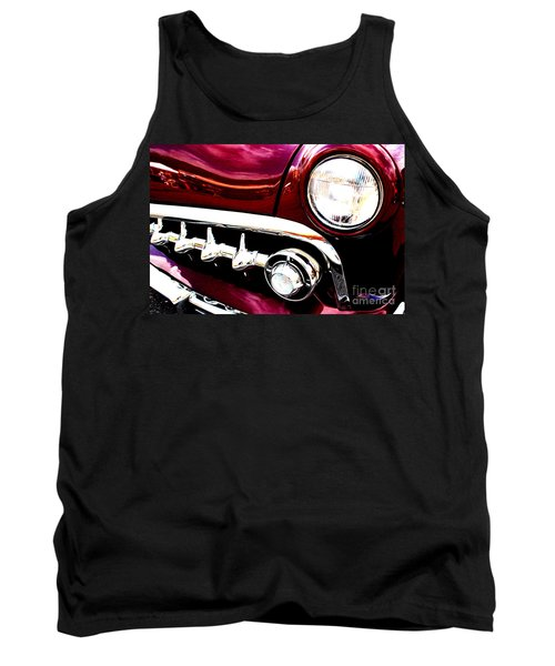 Tank Top featuring the digital art 49 Ford by Tony Cooper