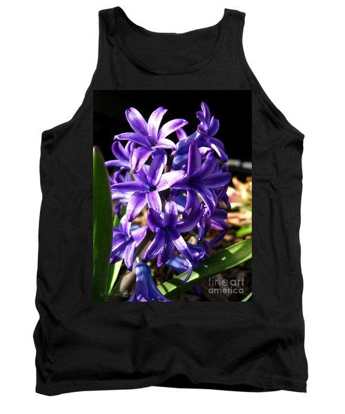 Hyacinth Named Peter Stuyvesant Tank Top by J McCombie
