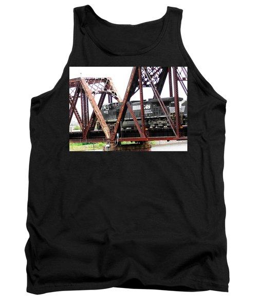 9215 Southern Cargo Train Tank Top