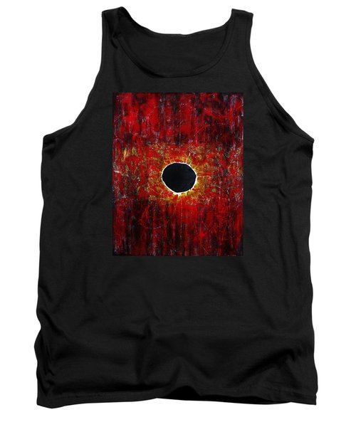 Tank Top featuring the painting A Long Time Coming by Michael Cross
