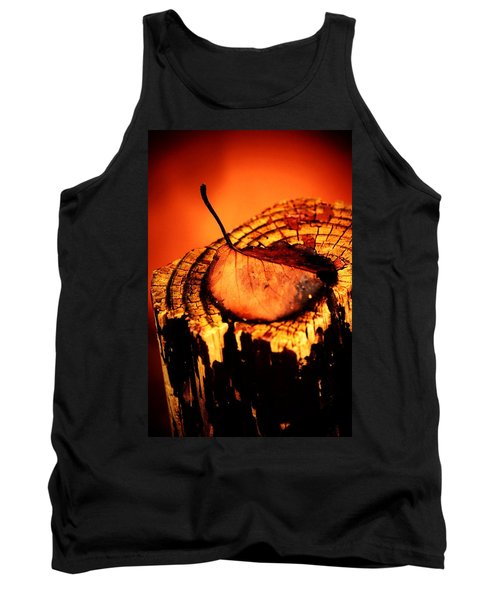 Tank Top featuring the photograph A Pose For Fall by Jessica Shelton