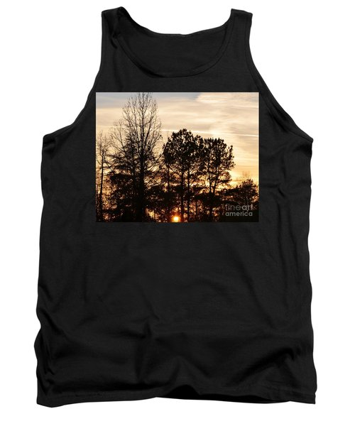 A Winter's Eve Tank Top by Maria Urso
