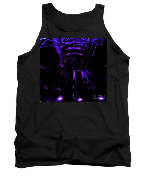 Abstract Invader Tank Top by Clayton Bruster