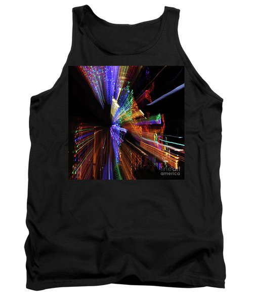 Abstract Lights Tank Top