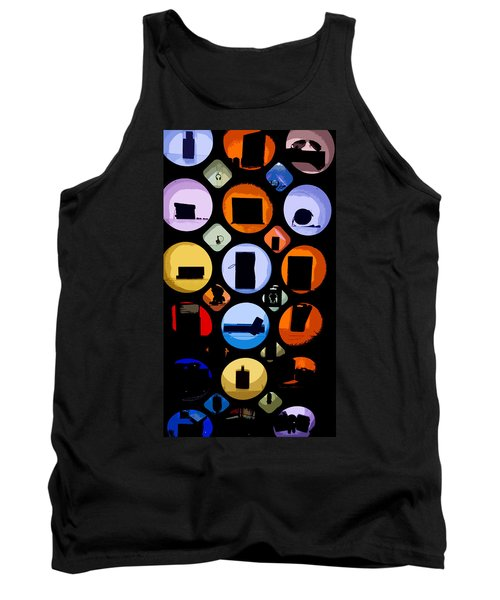 Abstract Stuff Tank Top