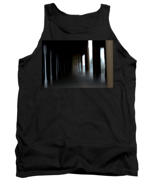 Tank Top featuring the mixed media Abyss by Terence Morrissey