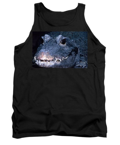 African Dwarf Crocodile Tank Top