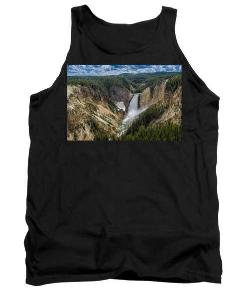 Afternoon At Lower Yellowstone Falls Tank Top