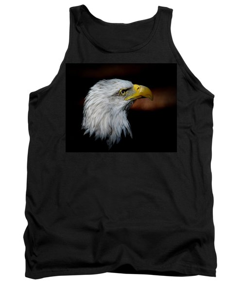 Tank Top featuring the photograph American Bald Eagle by Steve McKinzie