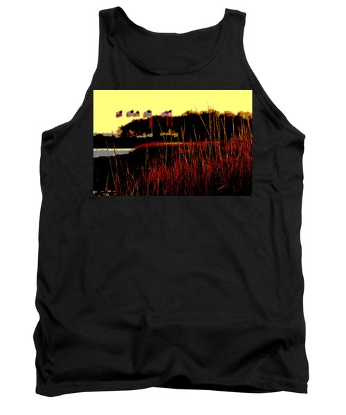 American Flags2 Tank Top by Zawhaus Photography