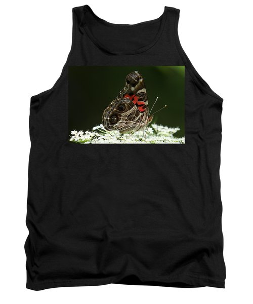 American Painted Lady Butterfly Tank Top
