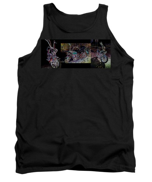 Artistic Harley Montage Tank Top