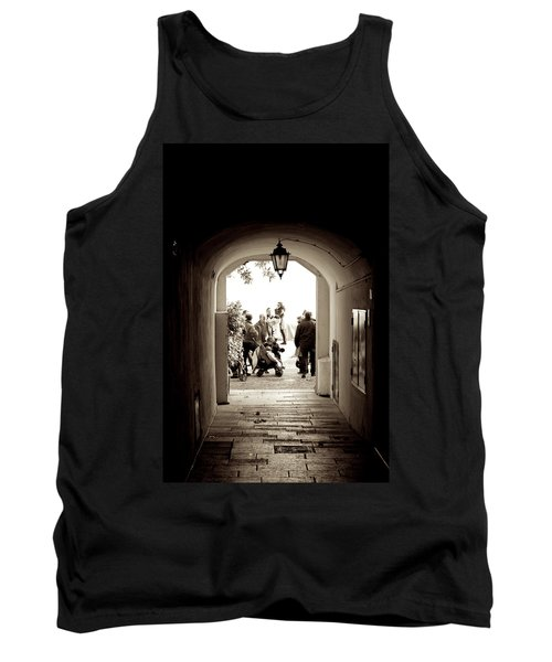 At The End Of The Tunnel Tank Top
