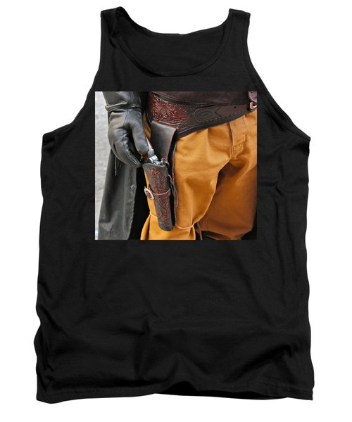 At The Ready Tank Top by Bill Owen