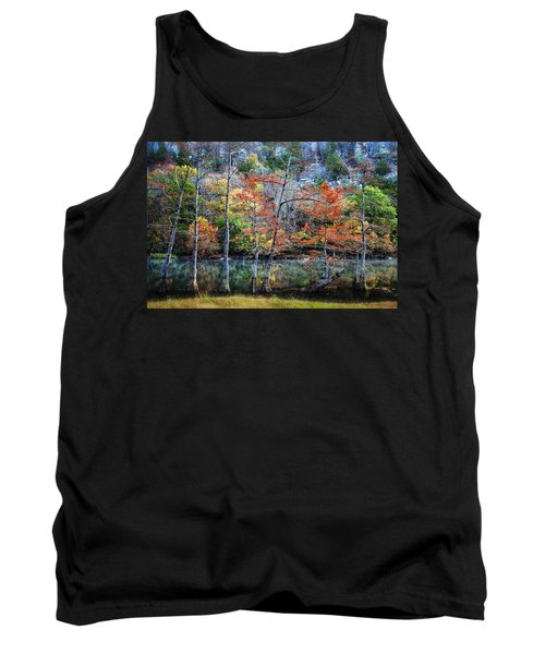 Tank Top featuring the photograph Autumn At Beaver's Bend by Tamyra Ayles